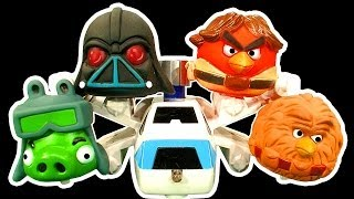 Angry Birds Dark Side Knock Off Ep3 Star Wars AT-AT Cookie Monster Strikes Back Attack