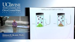 General Chemistry 1B. Lecture 15. Chemical Equilibrium, Part II