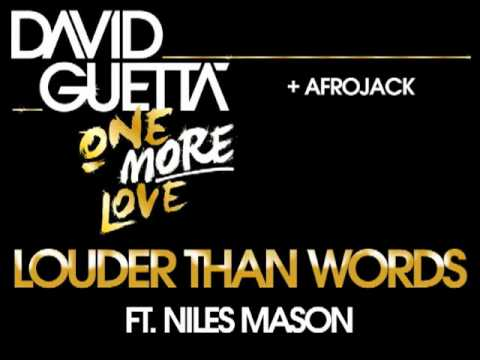 David Guetta - Louder Than Words lyrics