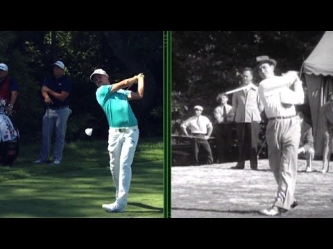 Peter Kostis compares Jonas Blixt's and Sam Snead's golf swing