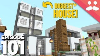 Hermitcraft 6: Episode 101 - BIGGEST* House!