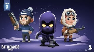CHEGOU A NOVA TEMPORADA 3 DO MINI FORTNITE | Battlelands Royale