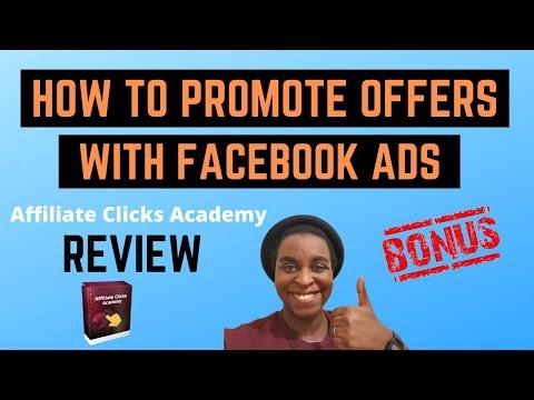 Affiliate Clicks Academy Review + Bonuses 🔥 How To Make Money With Facebook Ads 🔥