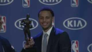 Stephen Curry: 2015 Regular Season MVP Press Conference