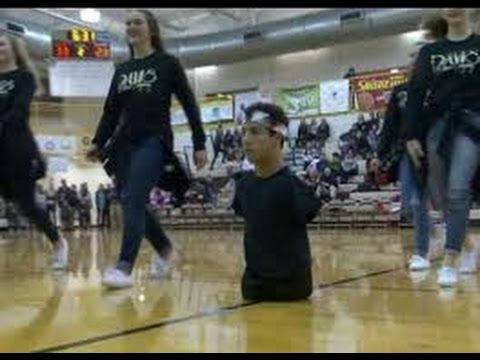 Utah Teen With No Arms Or Legs Inspiring Classmates On High School Dance Team