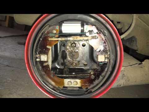 Регулировка ручного тормоза форд транзит фотография