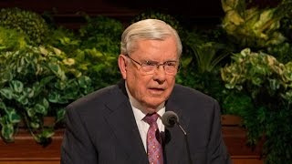 Elder M. Russell Ballard - To return to God's presence and to receive the eternal blessings that come from making and keeping covenants are the most important goals we can set. https://www.lds.org/general-conference/2017/04/return-and-receive?lang=eng