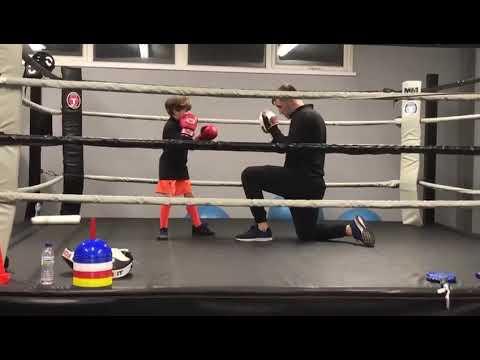 Boxing lesson At Titanium Boxing