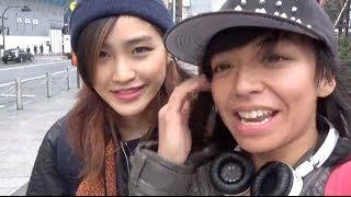 Kristina & Airi 東京を巡る はとバス編 PART1