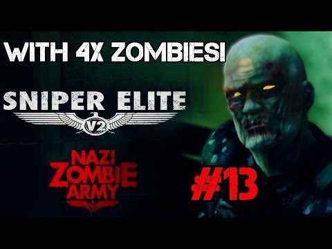 Nazi Zombie Army with x4 Zombies! – Library of Evil: Spidey Pulls Out the Clutch! (Part 13)