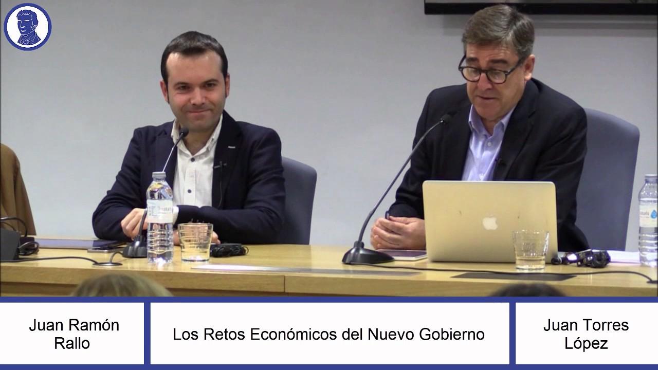 Debate con Juan Torres López en la Universidad de Sevilla