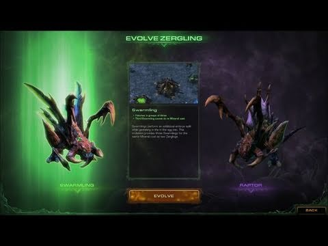 Starcraft 2: Heart of the Swarm (CD-Key, Battle.net, Россия и СНГ) Gameplay