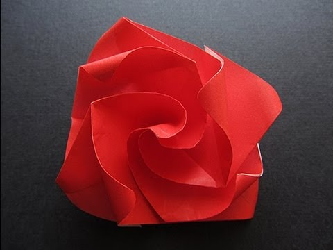 Flower Tutorial - 019 -- Twisty Rose