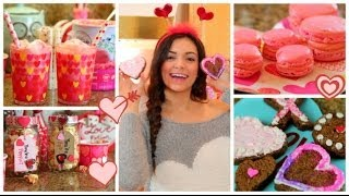 Valentine's Day Treats & DIY Gift Ideas! - YouTube