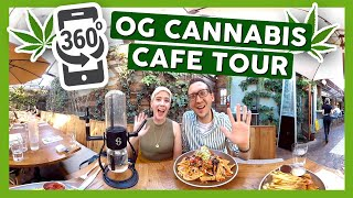 360 VR OG CANNABIS CAFE TOUR! by That High Couple