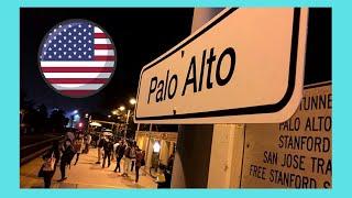 Palo Alto (CA) United States  city images : Downtown beautiful PALO ALTO at night, California (USA)