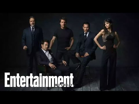 Universal's Monster Movie Universe: Johnny Depp, Javier Bardem | News Flash | Entertainment Weekly