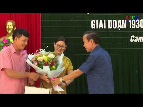 Ra mắt cuốn Lịch sử Đảng bộ xã Cam Nghĩa