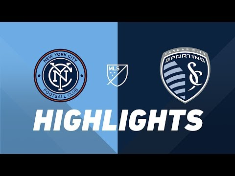 Video: NYCFC vs. Sporting Kansas City | HIGHLIGHTS - July 26, 2019