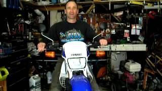 4. Choosing your first Motorcycle  not a sport bike Yamaha XT225 duel sport