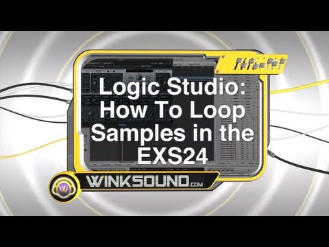 Logic Studio: How To Loop Samples in the EXS24 | WinkSound