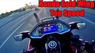 10. Honda Gold Wing 2018 Top speed