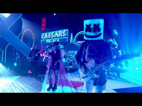 Marshmello ft. CHVRCHES - Here With Me (Jimmy Kimmel Live in Las Vegas Performance Video) - Thời lượng: 2 phút, 55 giây.
