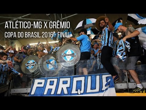 Atlético-MG 1 x 3 Grêmio - Copa do Brasil 2016 - Hoje eu vim te apoiar - Geral do Grêmio - Grêmio - Brasil - América del Sur