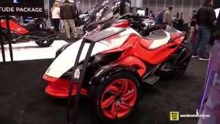 5. 2015 Can-am Spyder ST S - Walkaround - 2014 New York Motorcycle Show