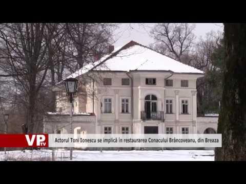 Actorul Toni Ionescu se implică în restaurarea Conacului Brâncoveanu, din Breaza