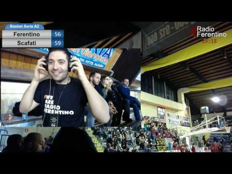 Basket Serie A2 Ovest – Ferentino – Scafati – Sintesi 3 e 4 Quarto.