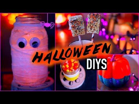 4 Easy DIY Halloween Decorations and Treats