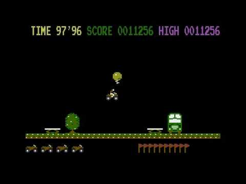 Kikstart - Commodore 16 Gameplay