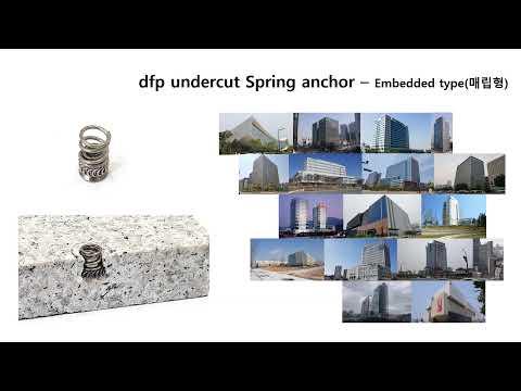 dfp undercut Spring anchor 종류 - 대동에스앤티
