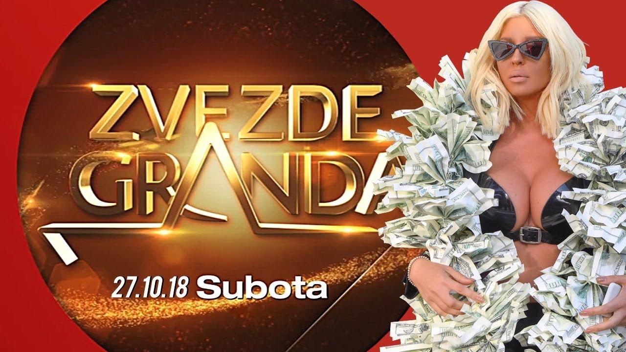 NOVE ZVEZDE GRANDA 2018: Šesta emisija – 27. 10. – najava