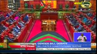 Kenyan MPs Fail To Vote On The Critical Gender Bill
