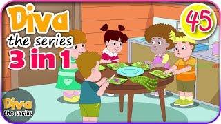 Video Seri Diva 3 in 1 | Kompilasi 3 Episode ~ Bagian 45 | Diva The Series Official MP3, 3GP, MP4, WEBM, AVI, FLV Januari 2019