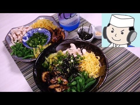 Keihan♪ (Chicken Soup over Rice) 奄美の鶏飯♪
