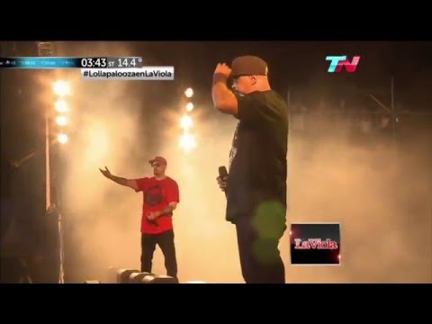 "CYPRESS HILL ""INSANE IN THE BRAIN""  LOLLAPALOOZA ARGENTINA 2015"