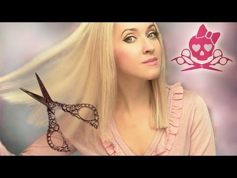 ✄ Как подстричь волосы самостоятельно ✄ Как подравнять кончики дома ✄ - DomaVideo.Ru