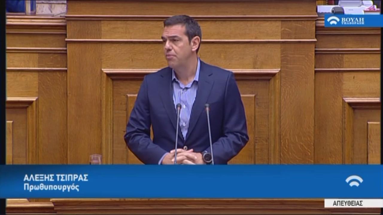 Ομιλία κατά τη συζήτηση του νομοσχεδίου για την Ανώτατη Εκπαίδευση στη Βουλή