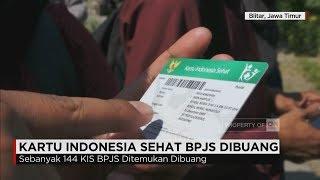 Ratusan Kartu Indonesia Sehat (KIS) milik warga Surabaya yang ditemukan di sungai kecil di Blitar, diduga sengaja dibuang. Hari ini, polisi kembali menemukan satu kartu lagi di lokasi yang sama. Hasil pengecekan petugas, ratusan kartu tersebut masih aktif berlaku.Ikuti berita terbaru di tahun 2017 dengan kemasan internasional berbahasa Indonesia, dan jangan ketinggalan breaking news 2017 dengan berita terakhir dan live report CNN Indonesia di https://www.cnnindonesia.com dan channel CNN Indonesia di Transvision.