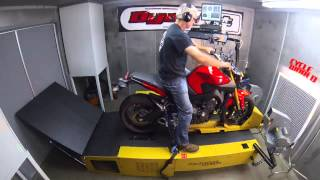 7. Dyno Run: 2014 Yamaha FZ-09