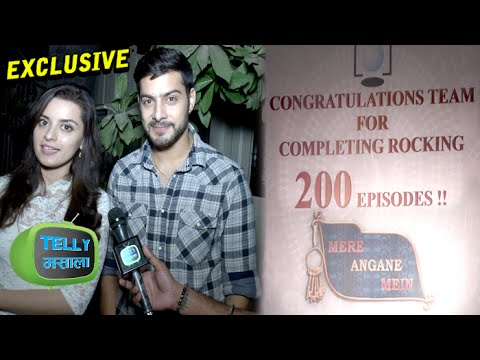 Interview : Shivam & Riya Talk About 'Mere Angne M