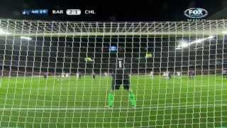 Месси не забил пенальти в матче против «Челси»
