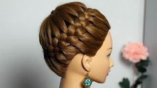 прически из косичек фото плетение кос на длинные волосы