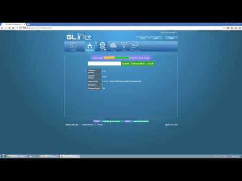 GL.iNet GL-AR150 Mini WiFi OPENWRT Router Firmware Preview