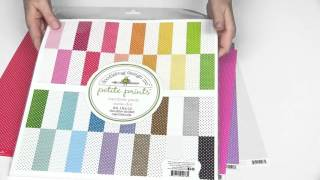 Shop Doodlebug Papers here... http://www.scrapbook.com/store/cat-brand/paper-doodlebug+design.html The Petite Prints Collection from Doodlebug is perfect for...