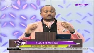 Pastor Dan Gichana teaches on living is giving on Tukuza Show
