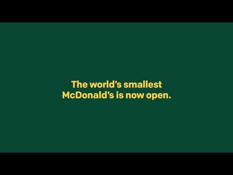 Video - Τα Mc Donald's άνοιξαν το μικρότερο εστιατόριο στον κόσμο για μέλισσες(vid)